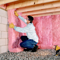 Insulating Conditioned Crawlspaces Residential
