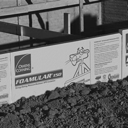 Insulating exterior foundation walls residential - Basement exterior wall insulation ...