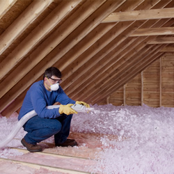Insulating With Propink L77 Loosefill Insulation