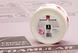 Homesealr Foam Joint Tape Residential Insulation Owens